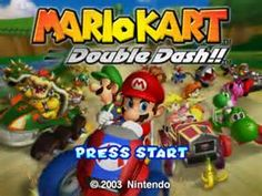 mario kart double dash Title Screen
