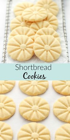 These classic shortbread cookies from Live Well Bake Often are soft, buttery, and made with just 5 simple ingredients. Shortbread cookies are a delicious easy cookie you can make in no time! These delicious homemade shortbread cookies are perfect for the holidays or any time of year! #cookies #shortbread #5ingredientdessert #Christmas