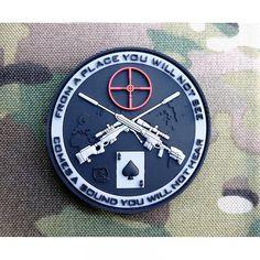 JTG - Naszywka 3D - Sniper Patch - SWAT