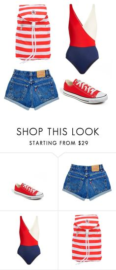 """""""outfit"""" by imnotwhatyouwant on Polyvore featuring moda, Converse, Solid & Striped e Invicta"""