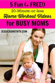 Who needs the gym? These time saving workouts can be done at home while baby naps!