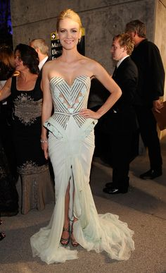 January Jones in Versace, 2009 - The Most Breathtaking Emmy Gowns of All Time - Photos