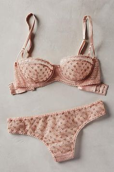 I love the neutral tone and the texture of this Stella McCartney Evangeline Bra