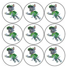 Divertido Mini Kit de Paw Patrol o Patrulla Canina Rocky para Imprimir Gratis. Paw Patrol Cake, Paw Patrol Party, Paw Patrol Birthday, 5th Birthday Party Ideas, Fourth Birthday, Party Themes, Paw Patrol Rocky, Templates Printable Free, Free Printables