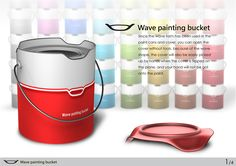 Wave Painting Bucket - Lee Yin-Kai / Cai Fu-Yu / Syu Shuo-Ren / Fan Cheng-Kuei, National Taipei University of Technology (Taiwan)