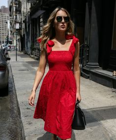 Continuing the under $100 series with this red eyelet number that will never go out of style.