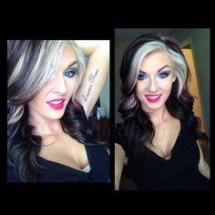 HAIR☆♧ on Pinterest | Gray Hair, Platinum Highlights and Blondes ...