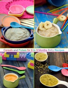 Easy porridge recipes for babies toddlers and kids easy porridge cereals and pulses for 8 to 9 months indian baby forumfinder Choice Image