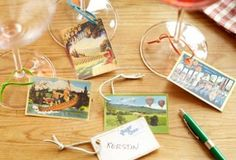homemade wine tags