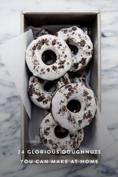 24 Glorious Doughnuts You Can Make at Home   via @PureWow