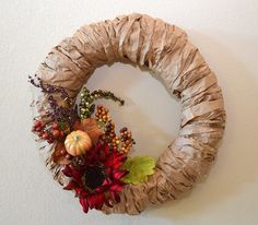 I love wreaths but I tend to steer clear of making them because it can get so pricey. Sometimes it just doesn't make sense when you can buy something ready made…