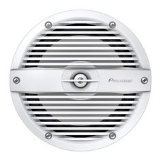 """Sold As Pair/ 7.7 """" 2-Way Coaxial System/ 250W Peak Power/ 75W Nominal Power/ IPX7 Certified/ Mica Reinforced IMPP Monocoque Cone/ Rated ASTM D4329 For UV Exposure/ 4 Ohms Impedance/ Classic White Grille Included/ White Finish Butyl Rubber, Music Power, I Series, Antique Radio, Sun And Water, White Led Lights, Cabin Design, 2 Way, Audio System"""