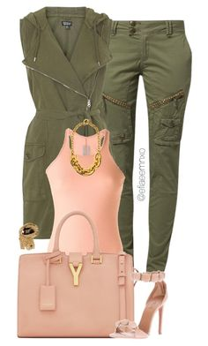 Downtown by efiaeemnxo on Polyvore featuring polyvore fashion style Rick Owens Topshop Yves Saint Laurent Juicy Couture Alaïa clothing