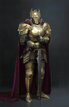 Medieval Knight, Medieval Armor, Medieval Fantasy, Fantasy Character Design, Character Design Inspiration, Character Art, Dragon Knight, Knight Art, Dungeons And Dragons Characters