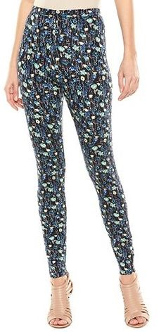 Pair these funky LC Lauren Conrad Print Leggings with a basic top and you're set!
