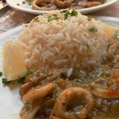 Rondelles de calamars : 20 recettes au calamar, à l'encornet et à la seiche - Journal des Femmes Chinese Food, Love Food, Entrees, Gluten, Fruit, Easy Cooking, Chinese Cuisine, Lobbies
