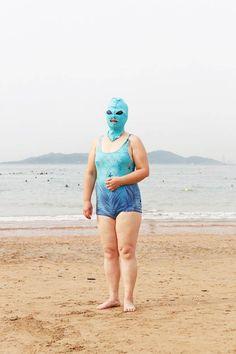 Les étonnants portraits des chinoises à la plage…