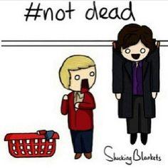 Sherlock isn't dead