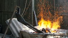 Wrought iron workshop
