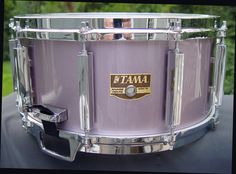 Tama 6 5 X 14 Granstar Snare Drum Heather Metallic Lacquer AW336