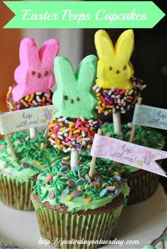 Easter Cupcakes - LOVE these!