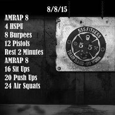 Train Hard Do Work! #555fitness #fire #fitness #firefighter #wod #workout #ems…