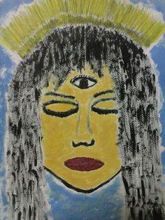 """The Feminine Eye of Knowledge"" Painted By Fadi Abu-Deeb"
