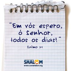 Salmo 24 | http://www.comshalom.org/