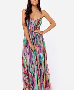 Rainbow Maxi for a colorful day:)