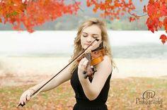 Senior Picture / Photo / Portrait - Musician - Band - Violin - Girls