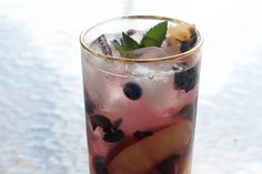 Blueberry Peach Collins All summer long, I stalk my local farmers market for the week's freshest offerings. I initially recce the aisles, recalling recipes, pairing ingredients in my head, and determining how much p…