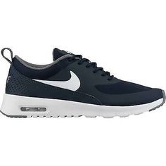Nike Air Max Thea Gs Big Kids 814444-401 Obsidian Running Shoes Youth Size 4