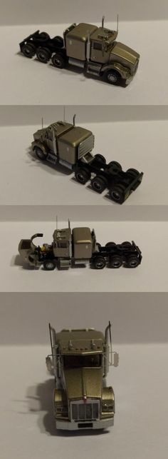 Other N Scale Parts and Accs 13294: Trainworx Custom Built Kenworth T800 Heavy Haul Semi Truck N Scale -> BUY IT NOW ONLY: $69.99 on eBay!