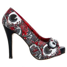 OH NO Platform Pumps by Iron Fist via Sinister Soles