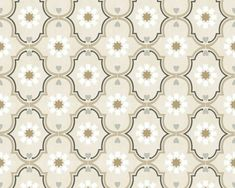 AS Creation/Living Walls Cozz Cottage/Ethnic/Retro Behang Retro Vintage, Quilts, Blanket, Beige, As, Home Decor, Bedroom, Kitchen, Wallpapers