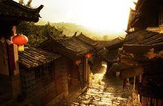 Hutongs, Beijin, China. (胡同, Hútòng) — тип средневековой китайской городской застройки, околоток. Cтроились одна возле другой, образуя узкую улицу или аллею.