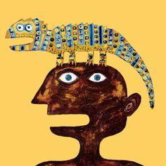 Cabeza-lagarto -  Diseño de Quetxua Natural, Wallpaper, Movie Posters, Art, Art Background, Wallpapers, Film Poster, Kunst, Performing Arts