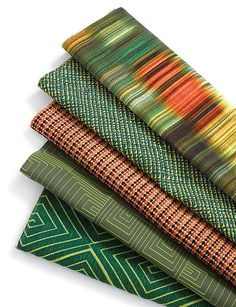 Knoll Textiles' Adjaye collection, inspired by African architecture.