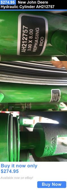 heavy equipment: New John Deere Hydraulic Cylinder Ah212757 BUY IT NOW ONLY: $274.95