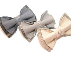 Wedding 2017 Satin wedding bow ties Set of 2 by accessories482