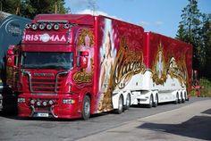 Scania R Ristimaa Customs Madonna