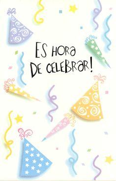 Spanish Religious Birthday Cards