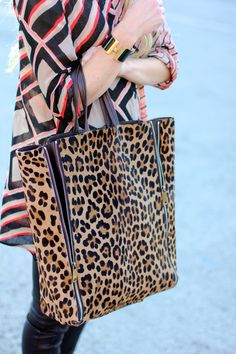 zipped-up leopard