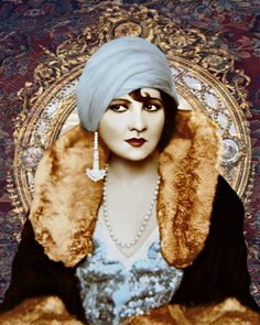 Vintage 1920's fashion goddess photomontage digital re vamped and re newed glorified art prints by VoogsArt on Etsy