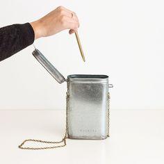 Handmade tin pencil box by Atelier Arminho