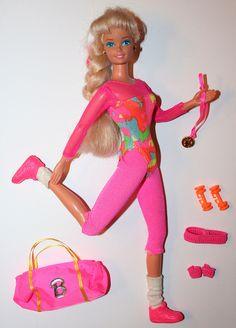 Gymnast Barbie