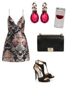 """""""That little black dress"""" by lecarg0830 on Polyvore featuring Zimmermann and Janis Savitt"""