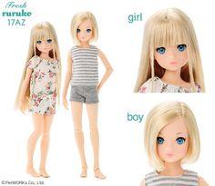 PetWORKs Store Global, Japanese Fashion Doll. momoko, ruruko dolls.