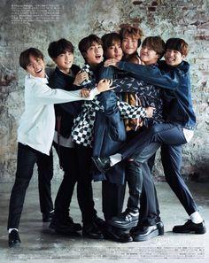 BTS X AN-AN Magazine | Cr. bts_ririy