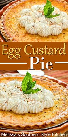 Old fashioned Egg Custard Pie recipes dessert custard pies Egg Custard Pie Egg Custard Recipes, Custard Desserts, Custard Pies, Strawberry Custard Pie Recipe, Strawberry Sauce, Old Fashioned Egg Custard Pie Recipe, Easy Desserts, Dessert Recipes, Potluck Recipes